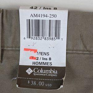 Columbia Shorts - Columbia Men's ROC Shorts Rugged Outdoor Chino 42